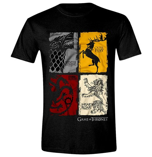 Game of thrones t shirt 218418 for only at for Game t shirts uk