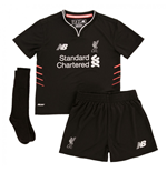 2016-2017 Liverpool Away Little Boys Mini Kit