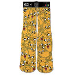 ADVENTURE TIME Kids Jake Yellow Socks