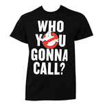 GHOSTBUSTERS Who You Gonna Call Tee Shirt