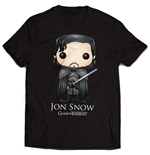 Game of Thrones T-Shirt Jon Snow Bling Art