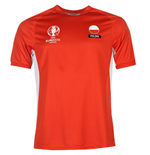 Poland UEFA Euro 2016 Poly Training Tee (Red)