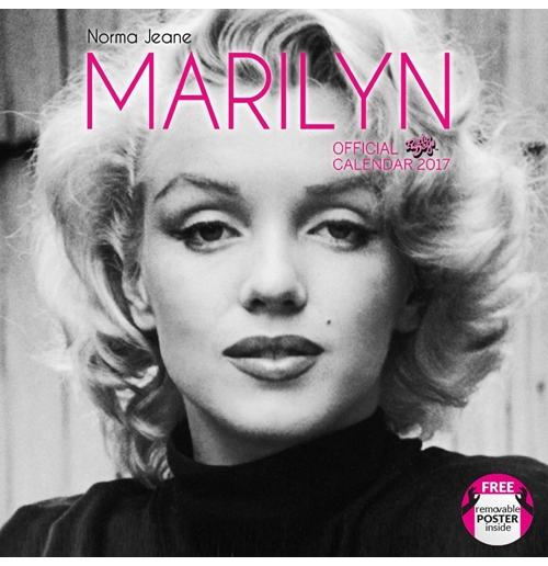 Marylin Monroe 2017 Calendar for only £ 11.20 at MerchandisingPlaza ...