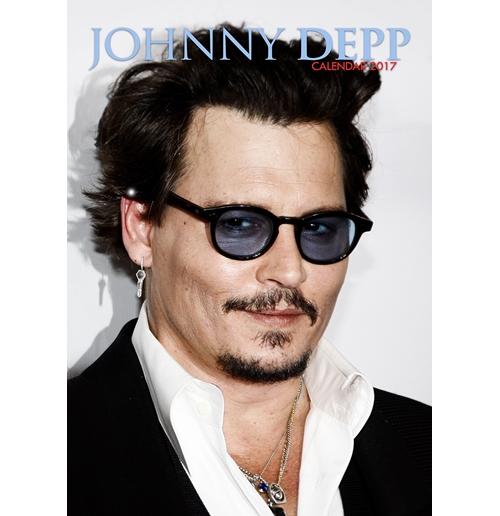 Jhonny Depp 2017 Calendar for only £ 11.15 at ...