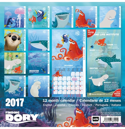 Finding Dory 2017 Calendar for only £ 10.90 at ...