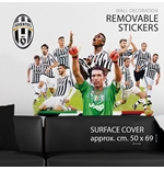 Juventus FC Wall Stickers Buffon&Team