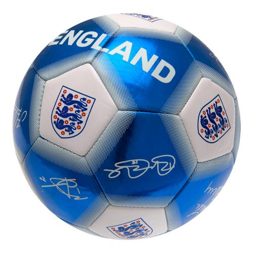 England F.A. Football Signature