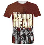 The Walking Dead T-shirt - Hands Logo Full Printed