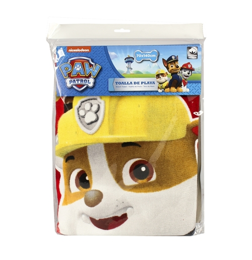 Personalized Paw Patrol Beach Towel: Official PAW Patrol Beach Towel: Buy Online On Offer