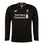 2016-2017 Liverpool Away Long Sleeve Shirt (Kids)