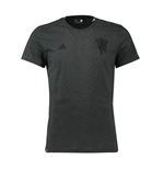 2016-2017 Man Utd Adidas Devil Graphic Tee (Black)