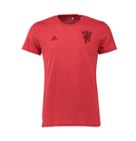2016-2017 Man Utd Adidas Devil Graphic Tee (Red)