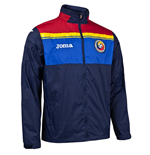 2016-2017 Romania Home Joma Rain Jacket (Navy)