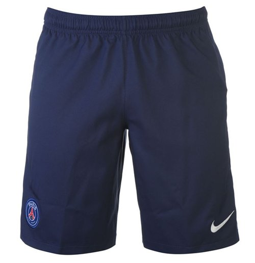 2016-2017 PSG Nike Home Shorts (Navy)