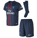 2016-2017 PSG Home Nike Little Boys Mini Kit