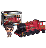 Harry Potter POP! Rides Vinyl Vehicle with Figure Hogwarts Express Engine & Harry Potter 12 cm