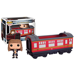 Harry Potter POP! Rides Vinyl Vehicle with Figure Hogwarts Express Traincar 1 & Hermione 12 cm