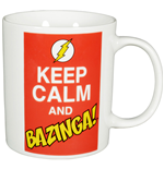 The Big Bang Theory Mug Keep Calm and Bazinga