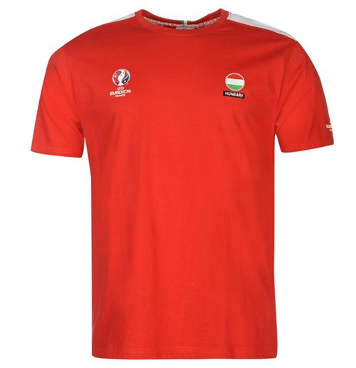 Hungary UEFA Euro 2016 Core T-Shirt (Red)
