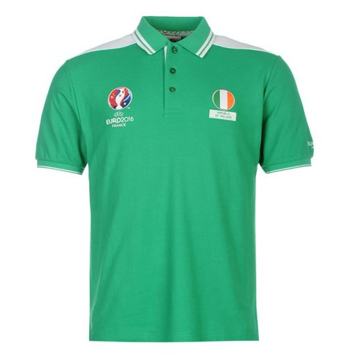 Ireland Uefa Euro 2016 Polo Shirt Green For Only