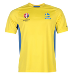 Sweden UEFA Euro 2016 Poly Training Tee (Yellow)