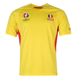 Romania UEFA Euro 2016 Poly Training Tee (Yellow)