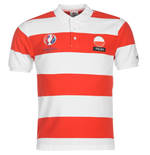 Poland UEFA Euro 2016 Polo Shirt (White-Red)
