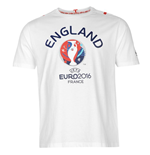 England UEFA Euro 2016 Graphic T-Shirt (White)