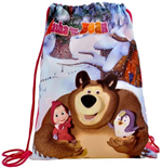 Masha and the Bear (Pink) bag for shoes