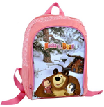 Masha and the Bear (Pink) backpack 31