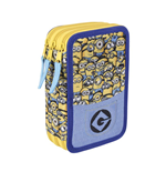 Minions (CE) pencil case triple filled