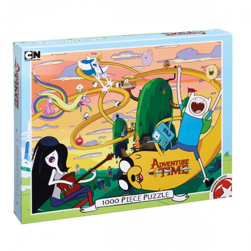 Adventure Time Round Puzzle 1000pc