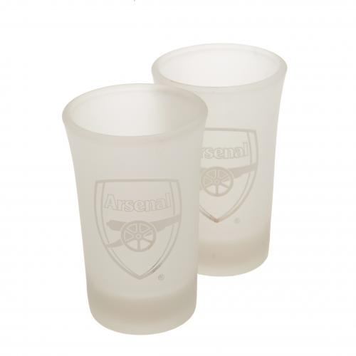 Arsenal F.C. 2pk Shot Glass Set FR