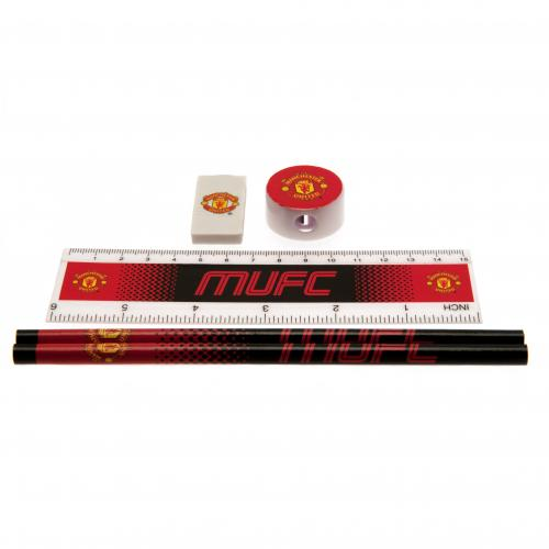 Manchester United F.C. Core Stationery Set FD