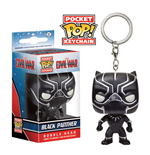Captain America Civil War Pocket POP! Vinyl Keychain Black Panther 4 cm