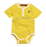 Ferrari  Baby Bodysuit - Yellow