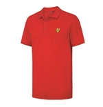 Ferrari Kids Red Polo shirt