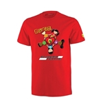 "Ferrari Red T-shirt - ""Kids Love Ferrari"""