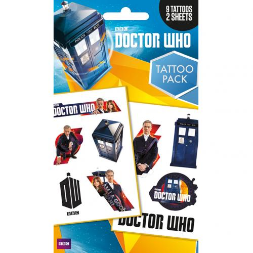 Doctor Who Tattoo Pack