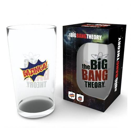 The Big Bang Theory Large Glass