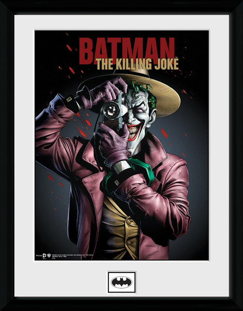 Batman Killing Joke Framed Collector Print