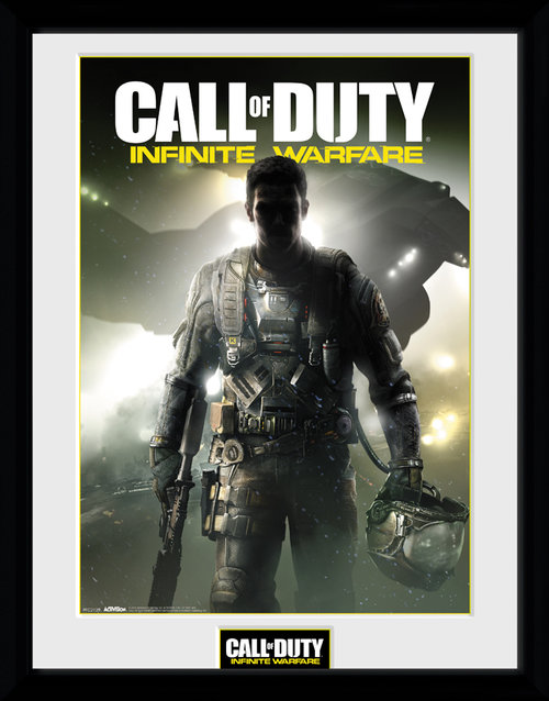 Call Of Duty Infinite Warfare Key Art Framed Collector Print