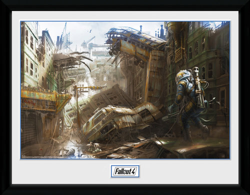 Fallout 4 Vertical Slice Framed Collector Print