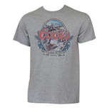 COORS Grey Waterfall Tee Shirt