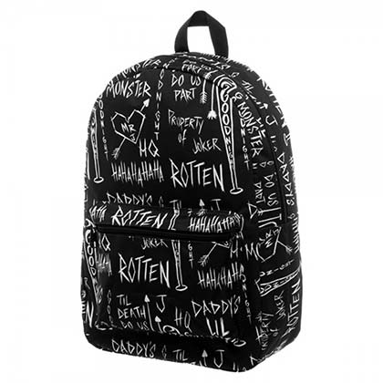 SUICIDE SQUAD Black Sublimated Backpack