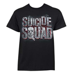 SUICIDE SQUAD Logo Tee Shirt