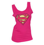 SUPERMAN Women's Pink Tank Top
