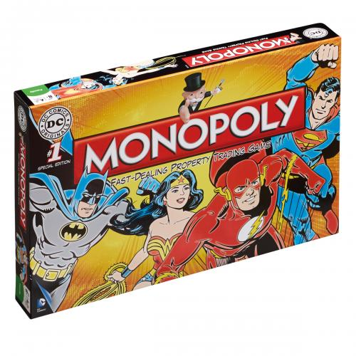 DC Comics Edition Monopoly
