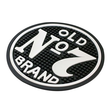 JACK DANIELS Black Old No. 7 Round Bar Mat