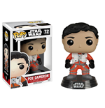 Star Wars Episode VII POP! Vinyl Bobble-Head Poe Dameron (No Helmet) 10 cm